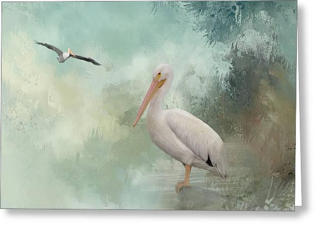 The Spirit Of Nature Greeting Card by Kim Hojnacki