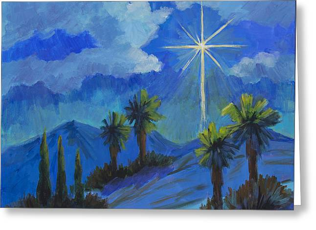 The Star Greeting Card by Diane McClary