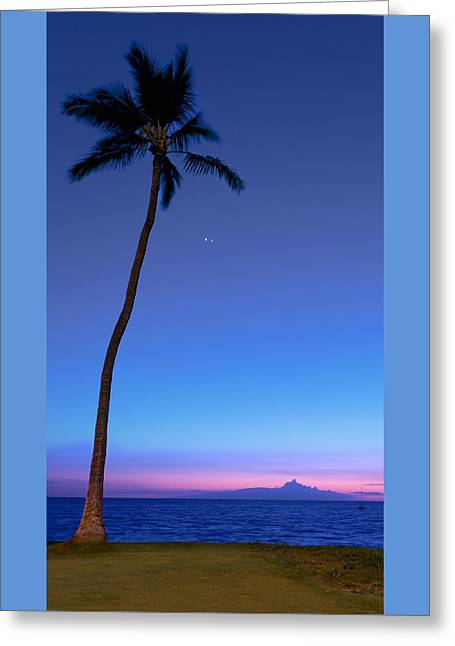 Star Of Bethlehem Greeting Cards - The Star of Bethlehem Sunset Greeting Card by Susan Rissi Tregoning
