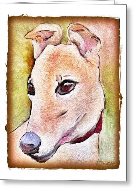 Greyt Greeting Cards - The Stare Greeting Card by Terry Mulligan