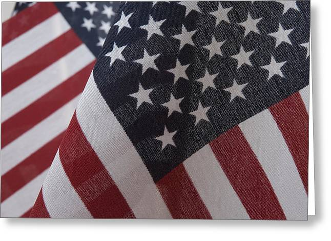 The Stars And Stripes Greeting Card by Jerry McElroy