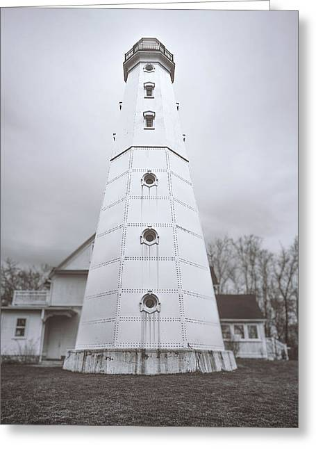 The Steel Tower Greeting Card by Scott Norris