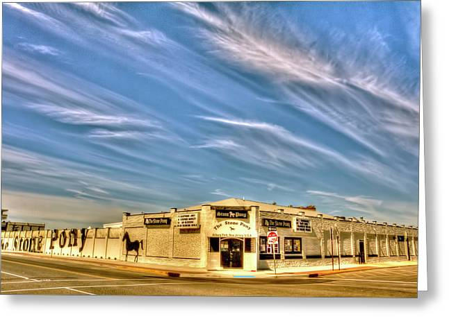 The Stone Pony Asbury Park Nj Greeting Card by Geraldine Scull