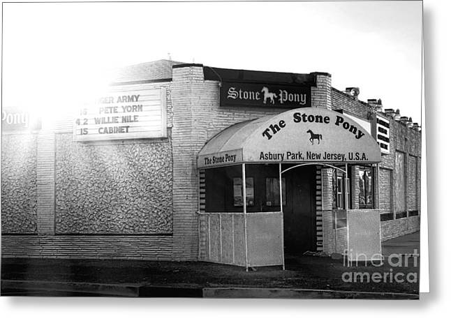 The Stone Pony  Greeting Card by Olivier Le Queinec