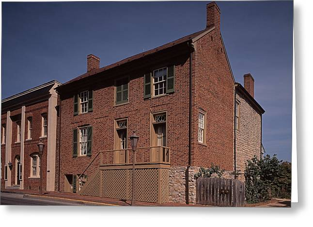 The General Lee Greeting Cards - The Stonewall Jackson House in Lexington VA Greeting Card by Bill McMannis