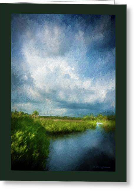 The Storm Greeting Card by Marvin Spates