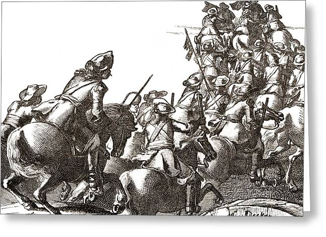 3rd Army Greeting Cards - The Storming Of Aardenburgh, Holland Greeting Card by Ken Welsh