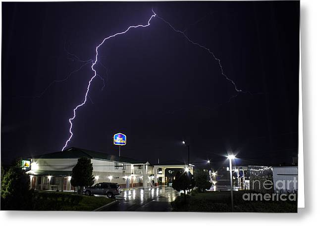 Severe Weather Greeting Cards - The Strikingly Beautiful Best Western Greeting Card by Francis Lavigne-Theriault