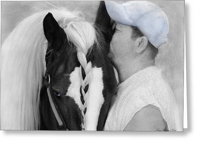 Gypsy Greeting Cards - The Strong Bond Between Friends Greeting Card by Terry Kirkland Cook