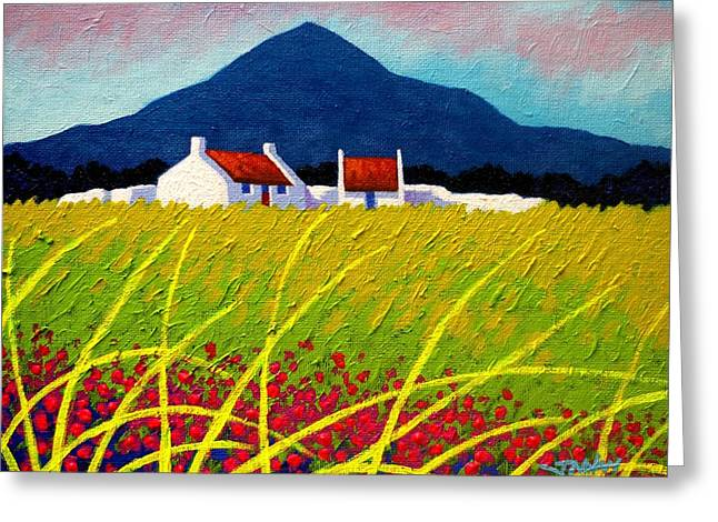 The Sugar Loaf County Wicklow Greeting Card by John  Nolan