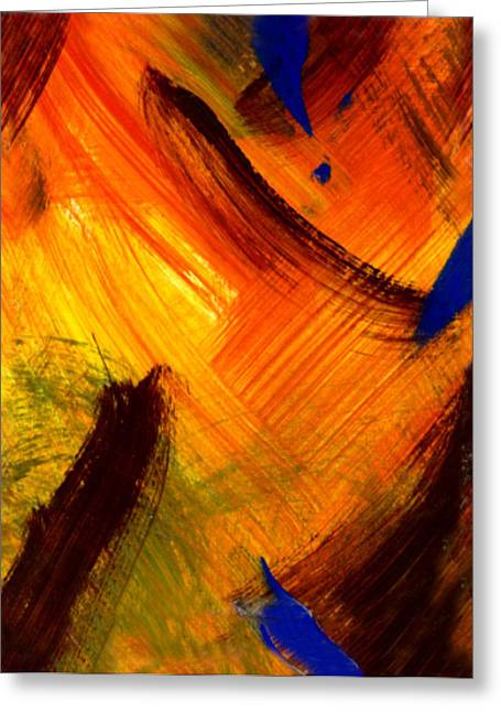 The Sunrise Of My Soul  Greeting Card by Kimanthi Toure