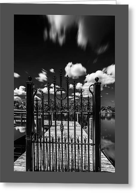The Tee Gate  Greeting Card by Marvin Spates