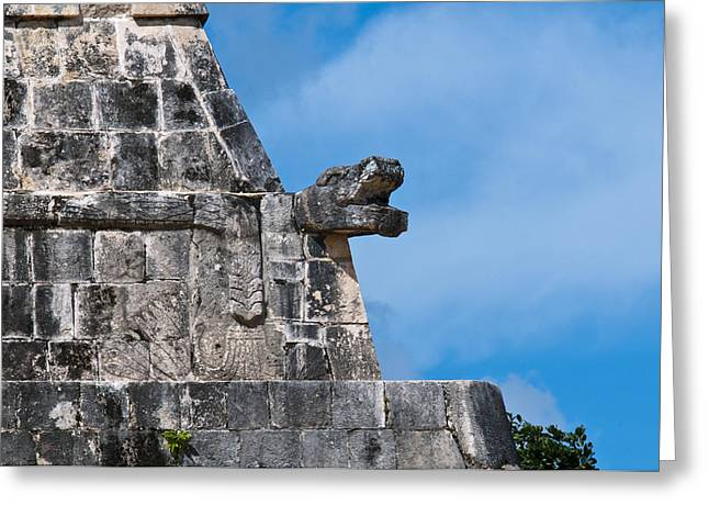 Jaguars Greeting Cards - The Temple of the Jaguars Greeting Card by MAK Imaging
