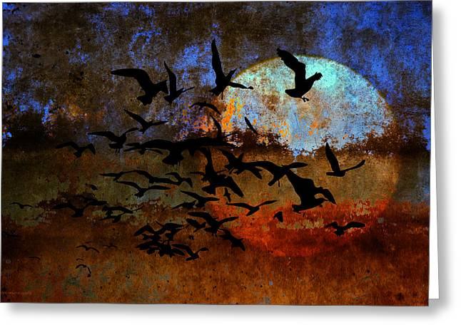 The Texture Of Our Dreams Greeting Card by Ron Jones