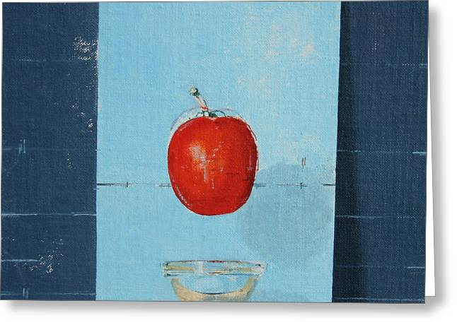 The Tomato Greeting Card by Charlie Millar