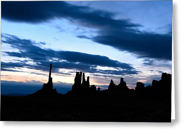 Amazing Sunset Greeting Cards - The Totem at Sunrise Greeting Card by Rachel Cash
