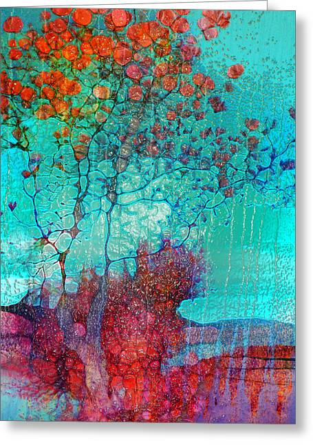Distortion Greeting Cards - The Tree of Yesteryear Greeting Card by Tara Turner