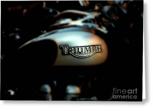 The Triumph Greeting Card by Steven  Digman