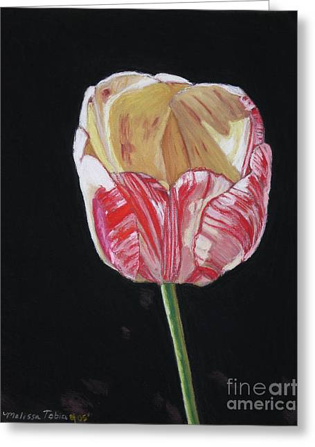 The Tulip Greeting Card by Melissa Tobia