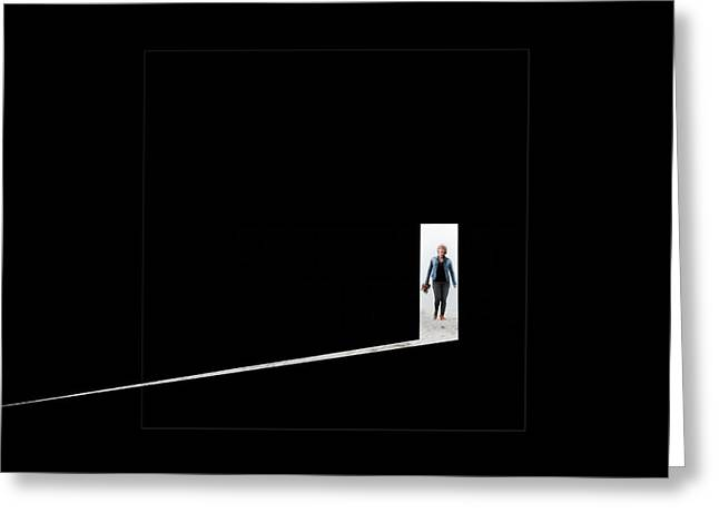 Sunlight Greeting Cards - The Unknown Unknown Greeting Card by Gilbert Claes