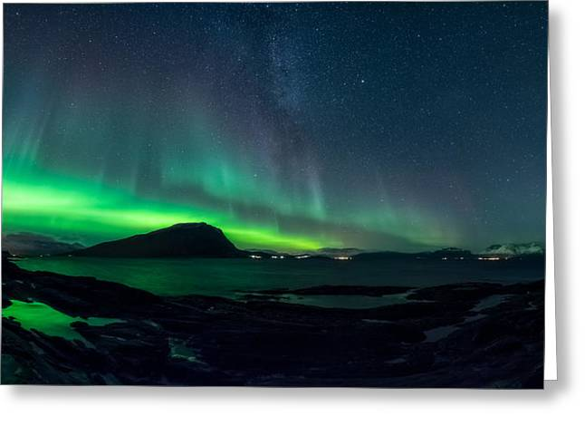 The Valkyrior Greeting Card by Tor-Ivar Naess