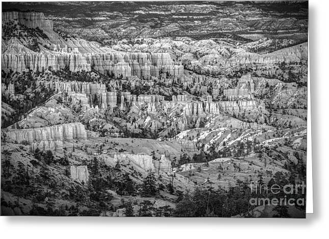 Enormous Greeting Cards - The Vastitude Of Bryce Greeting Card by Jennifer Magallon