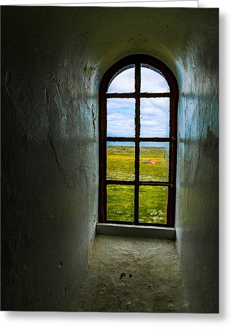 The View Greeting Card by Arve Sirevaag