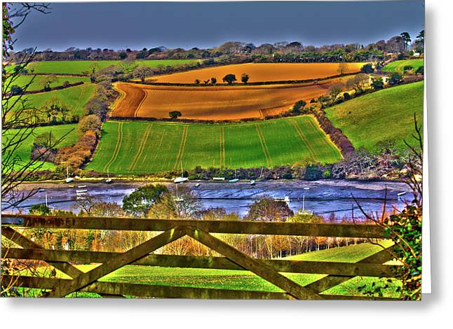 Flushing Greeting Cards - The View Greeting Card by Brian Roscorla