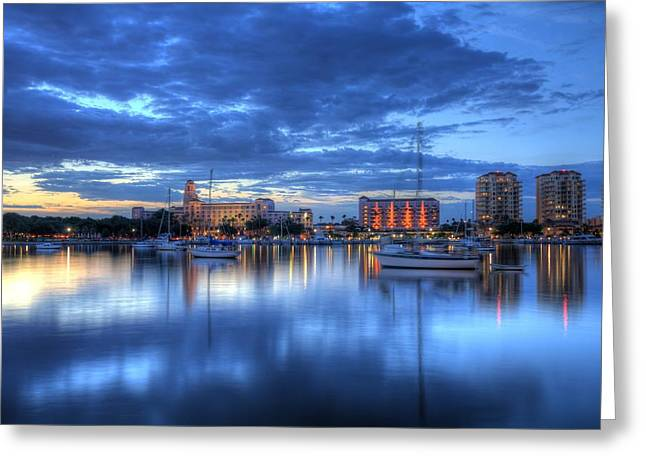St. Petersburg Florida Greeting Cards - The Vinoy I Greeting Card by Bao D