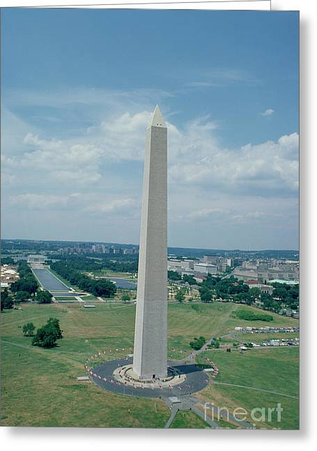 Canada Photograph Greeting Cards - The Washington Monument Greeting Card by American School