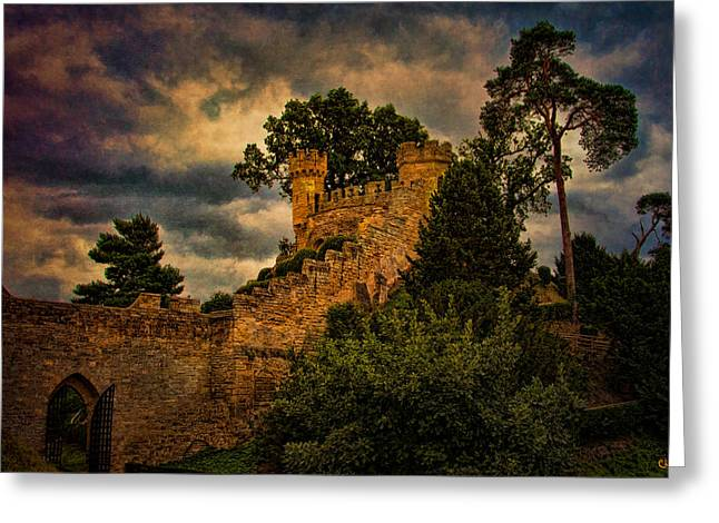 Warwick Greeting Cards - The Watchtowers Greeting Card by Chris Lord