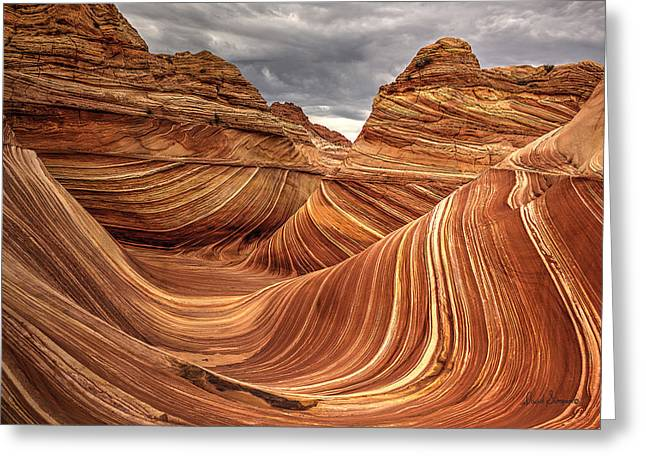 Southern Utah Greeting Cards - The Wave IX Greeting Card by David Simpson
