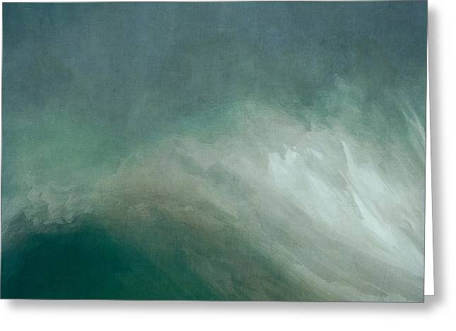 Resurrection Digital Greeting Cards - The Wave Greeting Card by LC Bailey