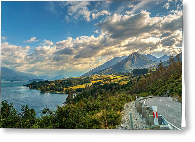 The Way To Glenorchy Greeting Card by James Udall