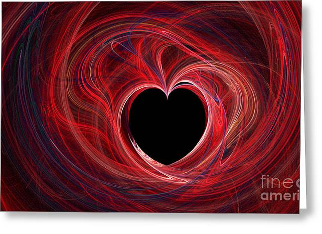 The Way To My Heart Greeting Card by Kaye Menner