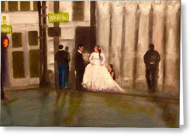 Cater Greeting Cards - The Wedding Greeting Card by Yolanda Terrell