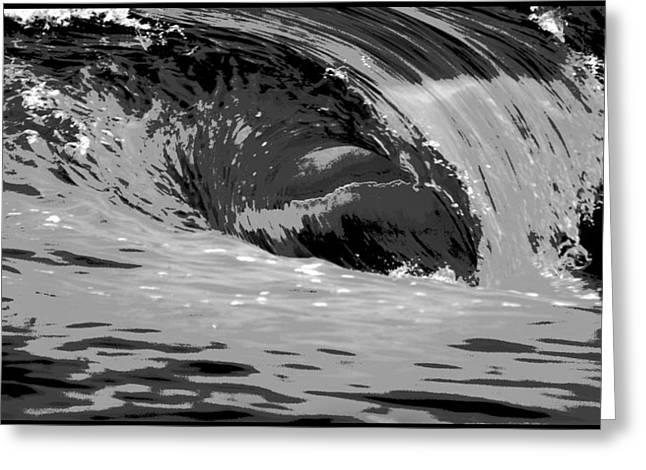 Ocean Photography Digital Art Greeting Cards - The Wedge Newport Beach Greeting Card by Brad Scott