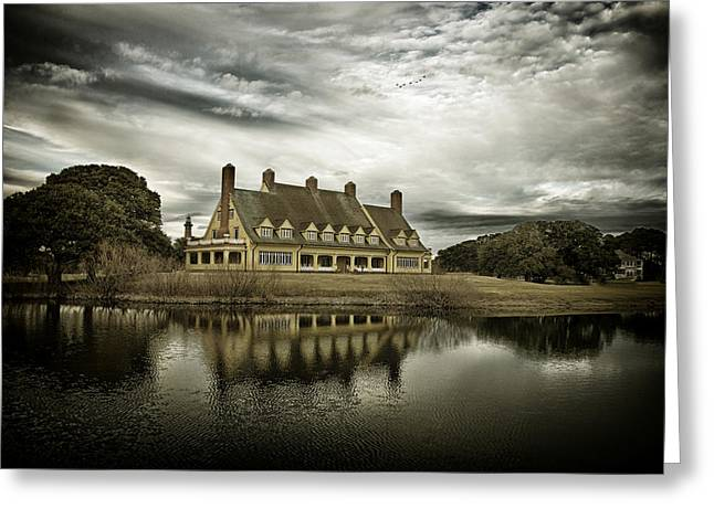 Waterways Greeting Cards - The Whalehead Club Greeting Card by Mark Wagoner
