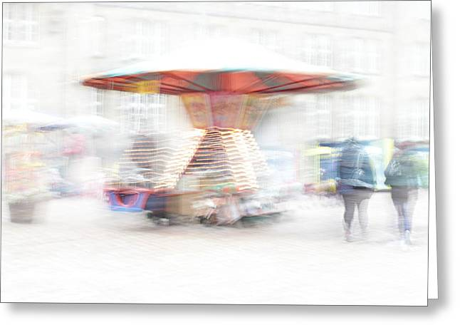The Whirligig Greeting Card by Heike Hultsch