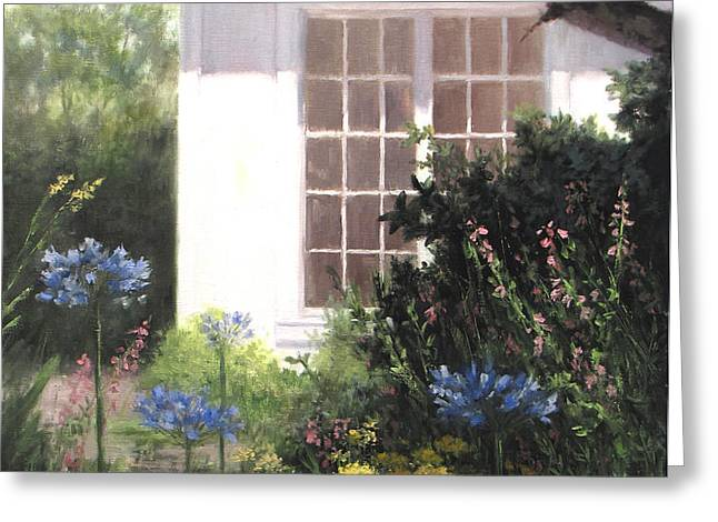The White House Greeting Card by Linda Jacobus