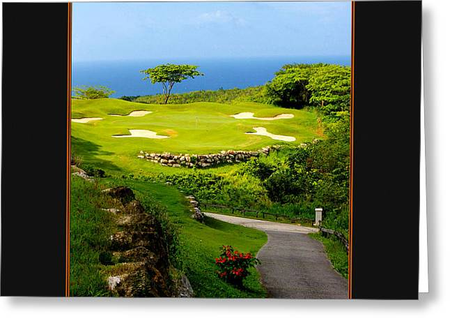 Montego Bay Greeting Cards - The White Witch Jamaica Greeting Card by Tom Prendergast