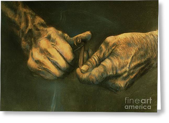 Artist Curtis James Greeting Cards - The Whitler Greeting Card by Curtis James