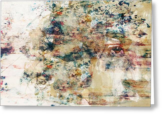Abstract Images Mixed Media Greeting Cards - The Wind Cries Mary Greeting Card by Paul Lovering