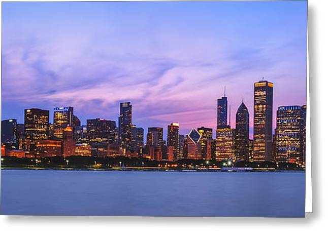 The Windy City Greeting Card by Scott Norris