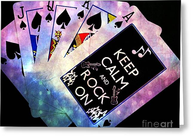 High Stakes Greeting Cards - The Winner Greeting Card by Daryl Macintyre