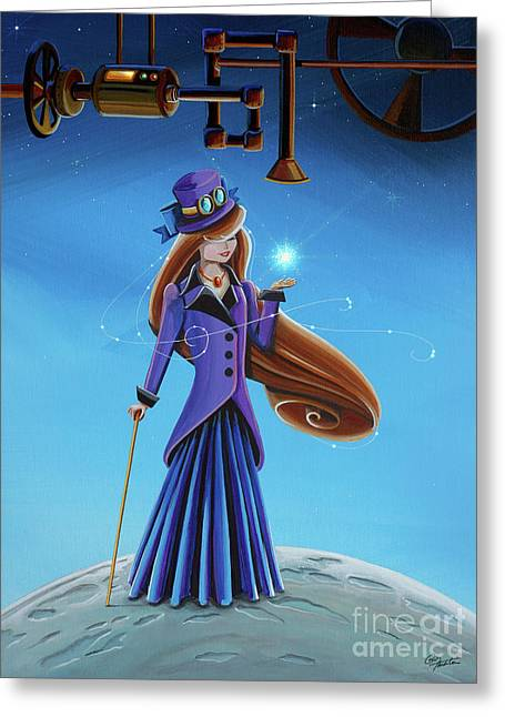The Wishmaker Greeting Card by Cindy Thornton