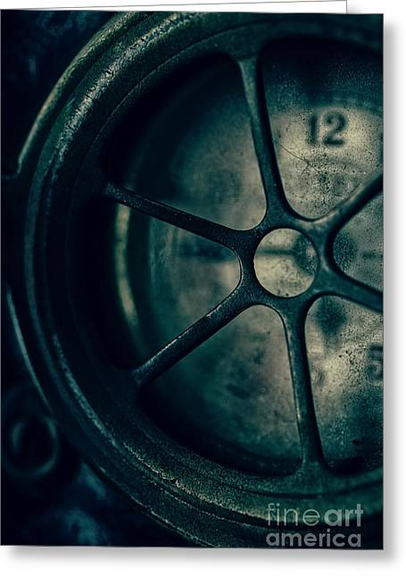 Clock Photographs Greeting Cards - The Witching Hour Greeting Card by Edward Fielding
