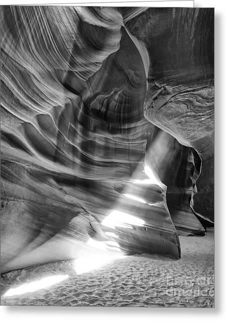 The Wizard Antelope Canyon Navajo Nation Page Arizona Greeting Card by Silvio Ligutti