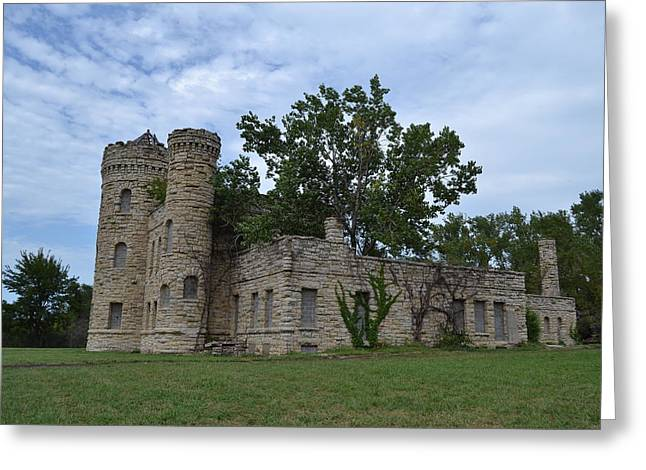 The Workhouse Castle Of Kansas City 2 Greeting Card by Shelley Wood