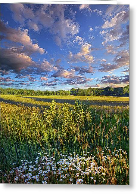 The World Is Quiet Here Greeting Card by Phil Koch